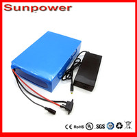 Wholesale ebike lithium battery v ah lithium ion bicycle v electric scooter battery for kit electric bike w with BMS Charger