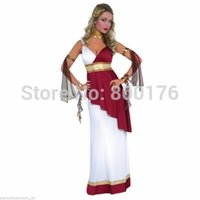 adult toga costumes - New Womens Adult Greek Roman Empress Toga Fancy Dress Party Costume sexy Costumes plus size s xl