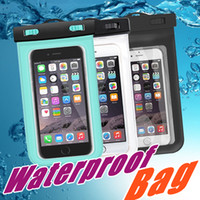 Wholesale For iphone Universal Clear Waterproof Pouch Case Water Proof Bag Underwater Cover For iPhone6 plus Samsung S6 S5 Note