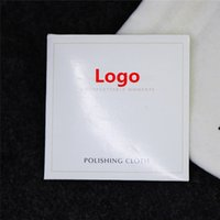 Wholesale 925 Sterling Silver Polishing Cloth For Pandora Charm Bead Bracelet Necklace With Paper Packing And Brand Logo DHL