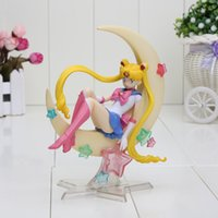 Wholesale New CM Anime Sailor Moon Tsukino Usagi PVC Action Figure Collectible Model Toy in retail box