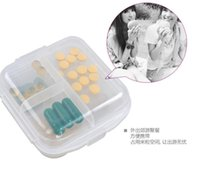 Wholesale 2016 New Weekly Rotating Pillbox Travel Pill Case Pill Organizer Medicine Box simple Pill Container