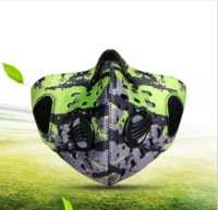 Wholesale 2016 autumn winter bicycle cycling masks men women wind proof anti fog anti haze dust PM2 activated carbon dust mask filter
