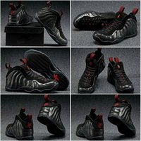 air foamposite shoes - Drop Shipping Hardaway Foamposite One ASG QS Black Mens Womens Kids Boy Girl Sports Basketball Shoes Sneakers