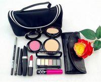 Wholesale Professional MC Brand Makeup Travel Case Kit Makeup Sets Make Up Cosmetics Gift Set Tool Kit Makeup Christmas Gift