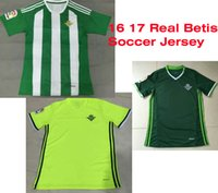 Wholesale Benwon Real Betis Balompie football jersey men s top thai quality football wear adult s short sleeve soccer jerseys sports t shirts