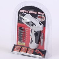 Wholesale 6V W RPM Electric Power folding multispeed cordless screwdriver set