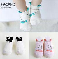 baby boy kittens - Baby Socks Anti Slip Newborn Toddler Years Cotton Animal Cartoon cat kitten dog Slippers Boy Girls kids Infantil Sock HJIA789