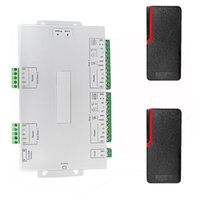access control systems ip - TCP IP Access Control System Controller For Doors Access Control Board Users RFID Khz Matted Shell Waterproof IP65 F1254Z