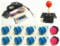 arcade control panels - 1 kit for Zero Delay Arcade PC PS PS IN PC Encoder PC to Joystick Control panel For MAME