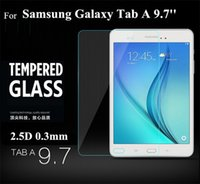 Wholesale High Quality H Explosion Proof Tempered Glass Screen Protector with retail box fit for Samsung Galaxy Tab A T550