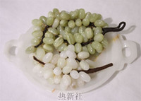 Wholesale Imported fine natural jade jade plate plate with jade ornaments study Home Furnishing office holiday gifts
