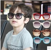 authentic selling - hot selling Authentic Han Guochao children sunglasses male children baby girls uv protection glasses sunglasses kids glasses