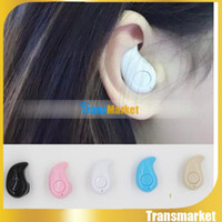 Wholesale New Mini Style Wireless Bluetooth Headphone S530 In ear V4 Stealth Earphone Phone Headset Handfree Universal For All Phone