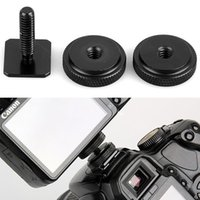 Wholesale Pro Inch Dual Nuts Tripod Mount Screw to Flash Camera Hot Shoe Adapter