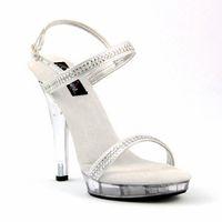 art high heels - Leisure cm High Heel Shoes Cinderella s Glass Sandals Art Photography Show Shoes Fashion Women Shoes