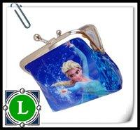 Wholesale 2016 Girls D Cartoon Frozen Sofia Princess Coin Purse with iron button shell bag wallet Purses Minions children Gifts