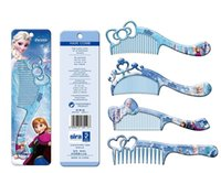 accessory com - Frozen Princess new anti static comb fine toothed comb wide tooth com b selling in small Girls hair accessories Kids hair accessories ame