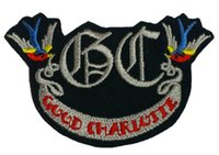 band good charlotte - GOOD CHARLOTTE Music Band EMBROIDERED IRON On Patch T shirt Transfer APPLIQUE Heavy Metal Rock Punk Badge Party Favor