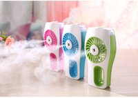 Wholesale Factory Price Rechargeable Humidifier Mini Fan Essential Oil Diffuser Ventilador USB Fan Aroma Diffuser Ventilator Mini Fan Air Conditioner