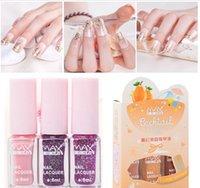 Wholesale Long Lasting Gradual Change Magic Color Maxdona Nail Polish Color Nail Gel ml DIY Nail Art Quick Dry designs choose