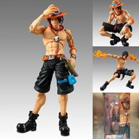 ace model - 2016 New Action Heroes One Piece Portgas D Ace cm PVC Action Figure Collectible Model Toy Gifts