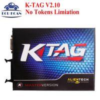 Wholesale Top Quality KTAG K TAG ECU Chip Tunning Master Version V2 K TAG K TAG ECU Programming Tool No Tokens Limiation