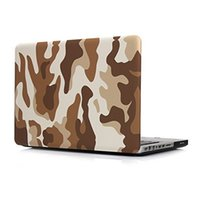 Wholesale Hard PC Crystal Notebook Cases for Macbook quot Air quot quot quot quot Pro Retina inch Desert Camouflage Style