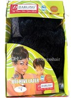 bee hive hair - Darling Brand Bee Hive Lazer synthetic hair fiber weft weave kanekalon toyokalon meatrial price