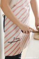 Wholesale 2016 newest Original design cotton apron Romantic pink apron Three color optional
