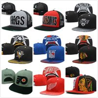 Wholesale 2016 New Arrived all hockey caps Blackhawks baseball caps NHL baseball Snapback Penguins baseball hats
