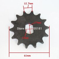 bicycle motor sprocket - Tooth Sprocket Motor Engine Parts Motor Pinion Gear for unite MY1020Z MY1120Z BM1418Z Electric Scooter bicycle