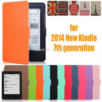 amazon kindle ereader - for amazon new kindle touch screen th generation ereader slim protective cover smart case protector film stylus