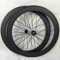 aero set - 60mm depth Tubular carbon Road Wheelset mm width U Shape Aero Rim design For better performance Racing Grade Quality Hubs Choice