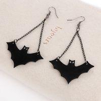 bat earrings - New arrival Earrings for women personality vampire bat Earrings creative Halloween jewelry for Gift