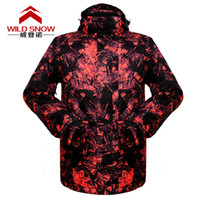 Wholesale High Quality Ski Jacket Man Super Warm Clothing Skiing Hiking Camping Coat Outdoor Snowboard Male Jacket Thermal Fashion Suit