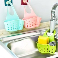 Wholesale Kitchen Portable Hanging Drain Bag Bath Storage Gadget Sink Holder Soap Holder Rack Kitchen Tools Gadget Kitchen Accessories