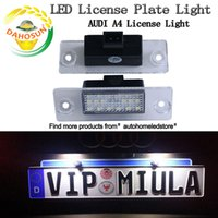 audi number plate - 2Pcs Error Free Car LED License Number Plate Light Lamps Auto Bulb Rear Light Car Accessories fit for Audi A4 S4 B5