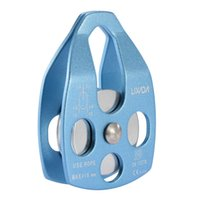 Wholesale LIXADA KN Large Mobile Single Pulley Swing Side Climbing Rigging Rescue DHL Y2640