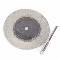 Wholesale 10pcs mm Diamond Cutting Discs Drill Bit For Rotary Tool Glass Metal High Efficiency Stability