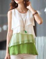 batik sundresses - New Womens Tiered Career CASUAL Chiffon Sundress tops Shirt Blouse Fashion