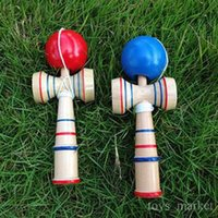 Wholesale Hot Funny Japanese Traditional Wood Game Toy Kendama Skills Ball Education Toy Gift New
