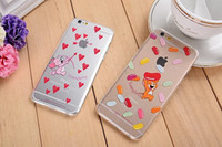 apples tom - Newest TPU Tom and Jerry Lovely Case Cover for iPhone s Plus Case No Package