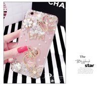 Wholesale Rhinestonel Case Cover For Apple Iphone s For Oppo phone R9 R9plus Diamond Cover Mobile phone Case