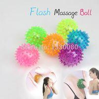 Wholesale Flashing Light Up Balls Novelty Sensory Hedgehog Ball Sound Toy Ball E5M1 order lt no track