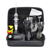Wholesale E Cheap Nail Vaporizer Quartz Nail Electric Dab Nail Complete Kit withTemperature Controller w