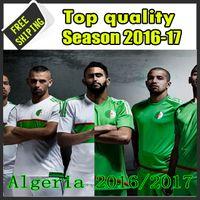 algeria football soccer - in stock new ALGERIE Algerienne Soccer Jerseys Algeria Shirts Football SHIRTS Riyad Mahrez Nabil Bentaleb size S XL
