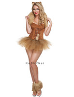 adult costume tutu - Adult Woman Halloween Carnival Costumes Sexy Catwoman Costume Lingerie Cosplay Costumes Fancy Tutu Dress Headwear