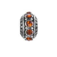 best amber beads - Best Price Brand New Amber Brithstone Antique Silver Plated European Beads Brithstone Beads European beads