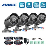 Wholesale ANNKE P CCTV Security Cameras P MP IR waterproof outdoor TVL Camera for home surveillance security system